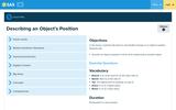 Describing an Object's Position