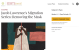 Jacob Lawrence's Migration Series: Removing the Mask