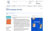 Severe Bleeding: First Aid