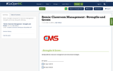 Remix: Classroom Management - Strengths and Grows