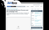US Presidential Election Process and the Campaign Trail