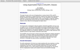 Using Supermarket Flyers in ESL/EFL Classes