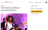The Music of African American History