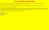 Nursery Rhyme Charades