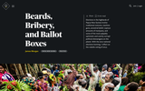 Beards, Bribery, and Ballot Boxes