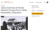 Asian American & Pacific Islander Perspectives within Humanities Education