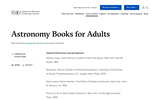 Astronomy Books for Adults