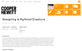 Designing A Mythical Creature