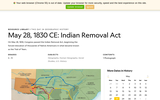 1830: Indian Removal Act