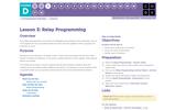 CS Fundamentals 4.3: Relay Programming