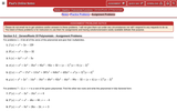 Zeroes/Roots of Polynomials - Assignment Problems