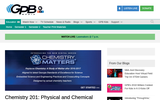 Chemistry 201: Physical and Chemical Properties and Changes - Lesson Plan