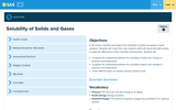 Solubility of Solids and Gases