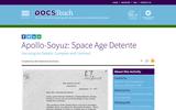 Apollo-Soyuz: Space Age Detente - Comparing/Contrasting