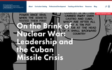On the Brink of Nuclear War: Leadership and the Cuban Missile Crisis