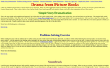 Drama From Picture Books: Simple Story Dramatization