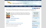 The Case of the Shruken Allowance