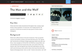 The Man and the Wolf