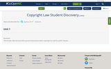 Copyright Law Student Discovery