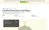 Cardinal Directions and Maps