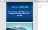 Forces of Nature: Inside and Out - Earth's Changes (presentation)