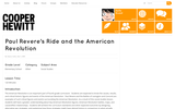 Paul Revere's Ride and the American Revolution