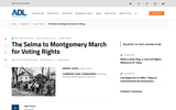 The Selma to Montgomery March for Voting Rights