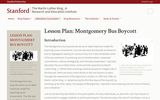 Lesson Plan: Montgomery Bus Boycott