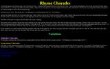 Rhyme Charades