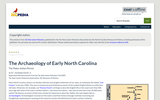 The Archaeology of Early North Carolina