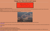 Change Over Time in the Grand Canyon
