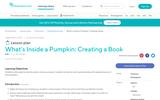 What's Inside a Pumpkin: Creating a Book