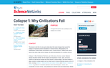 Collapse 1: Why Civilizations Fall