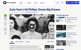 Early Years | Vel Phillips: Dream Big Dreams
