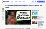Above the Noise: Is Facial Recognition Invading Your Privacy?