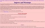 Improvs and Warmups