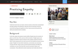 Practicing Empathy