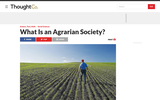 What is an Agrarian Society?