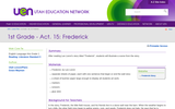 1st Grade - Act. 15: Frederick