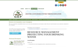 Resource Management: Protecting Your Drinking Water