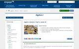 Algebra I Module 2, Topic D, Lesson 20