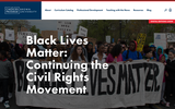 Black Lives Matter: Continuing the Civil Rights Movement