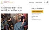 Cinderella Folk Tales: Variation in Character