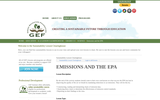 Emissions and the EPA