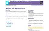 CS Fundamentals 2.1: Your Digital Footprint