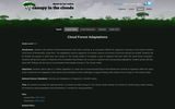 Cloud Forest Adaptations