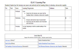 Civic Literacy H.1.1 Advanced Learning Plan