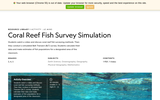 Coral Reef Fish Survey Simluation