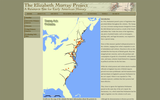 Stamp Act Protests Map