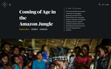 Coming of Age in the Amazon Jungle